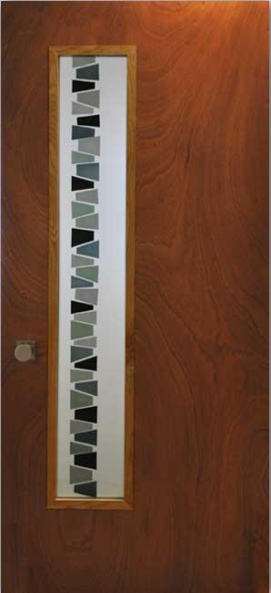 mid century modern exterior doors