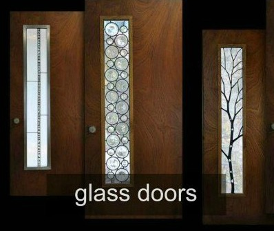 glass door inserts
