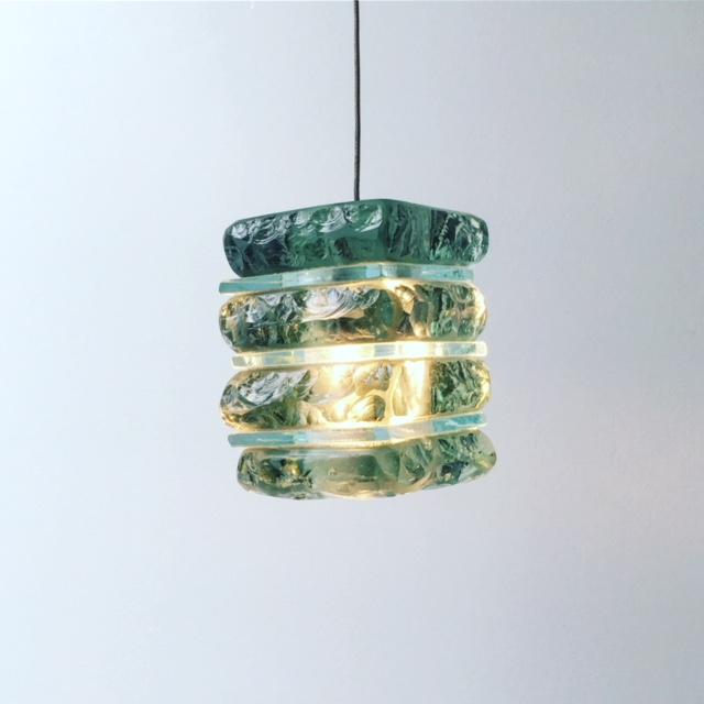 mini glass pendants